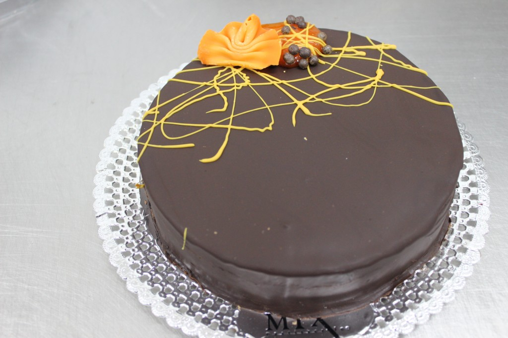 Tarta sacher mix
